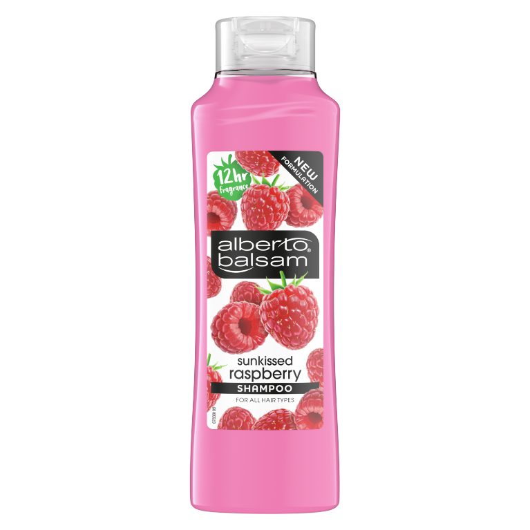Alberto Balsam Sunkissed Raspberry fresh and fruity fragrance Shampoo for all hair types 350 ml